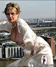 London penthouse mature tit flash